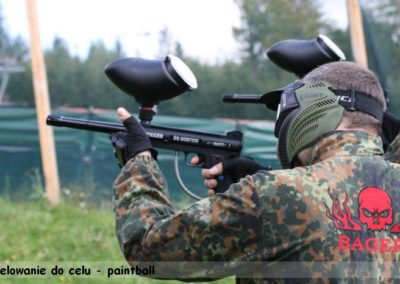 Celowanie do celu - paintball